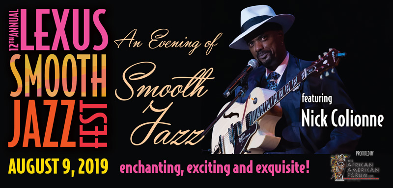 Ticket Sales - An Evening of Smooth Jazz featuring Nick