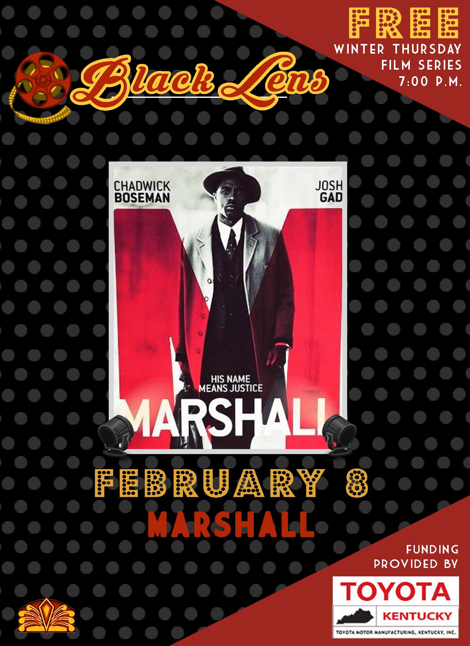 black lens- marshall