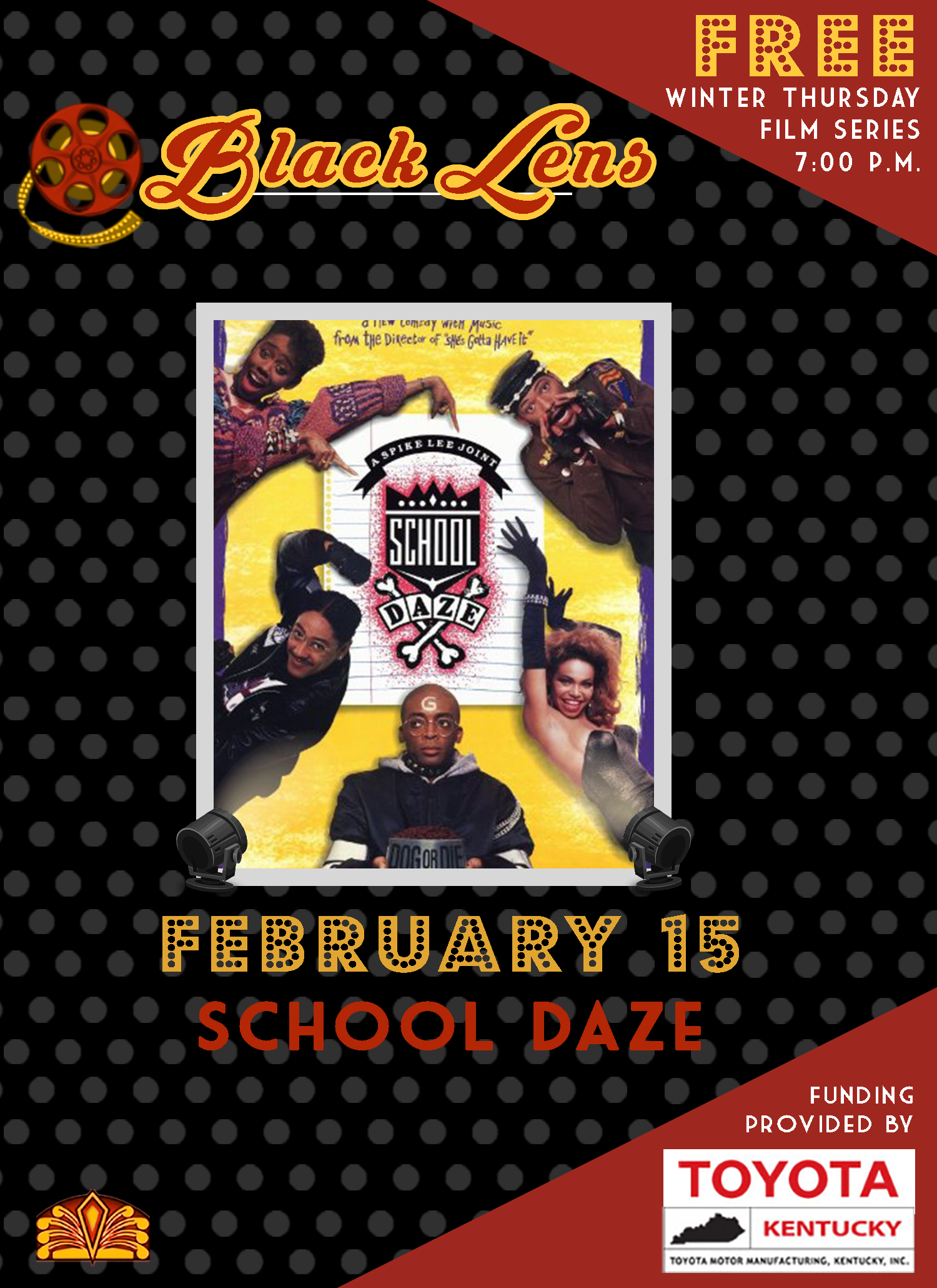 black lens- school daze