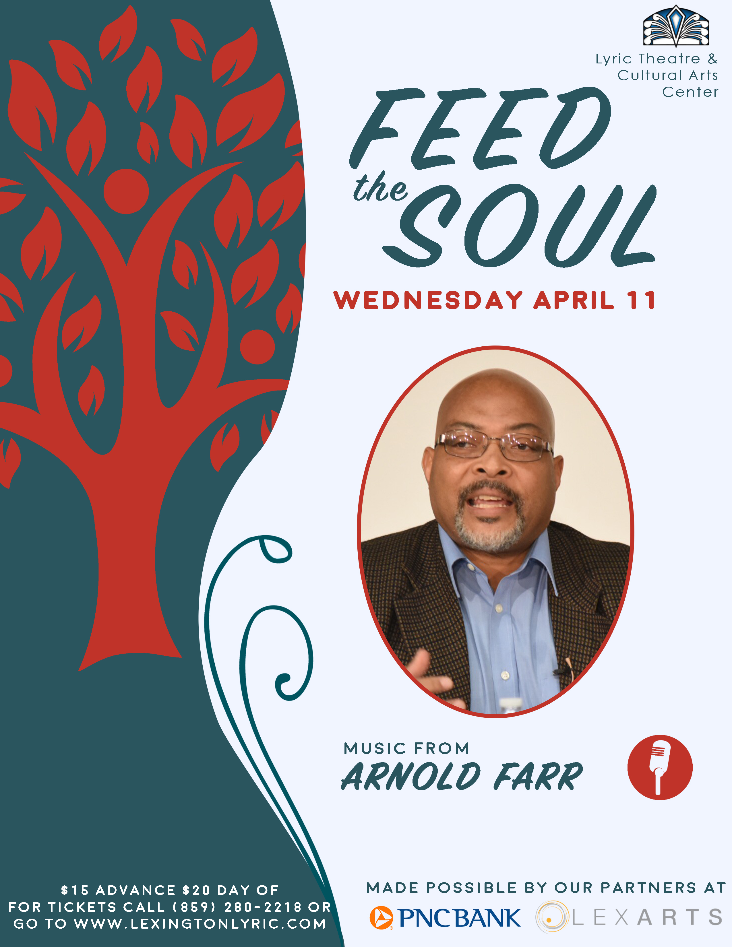 feed the soul arnold farr