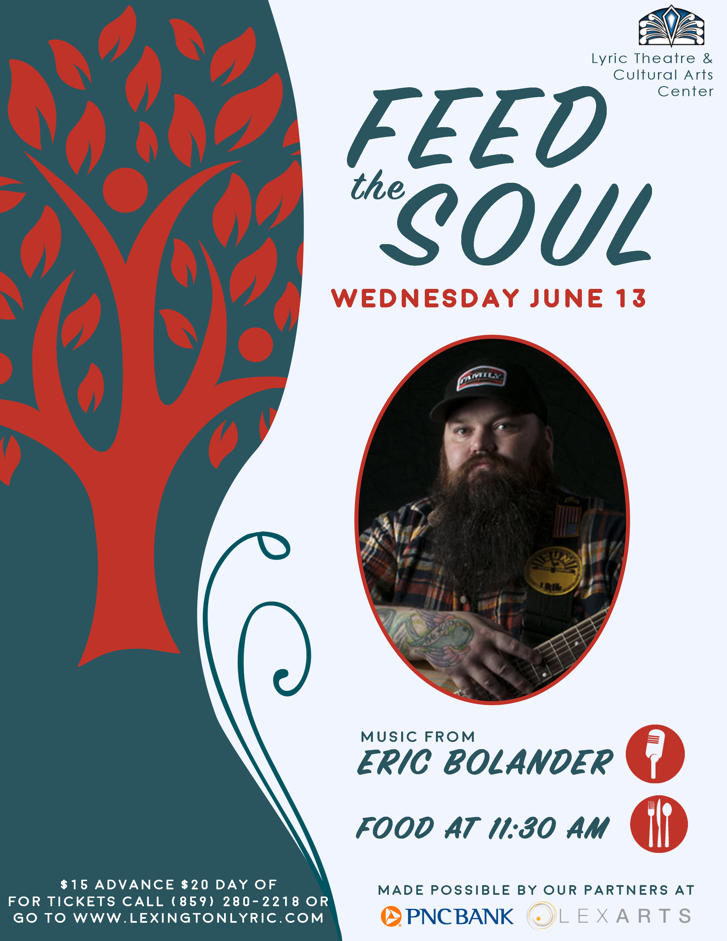 feed the soul eric bolander community flyer