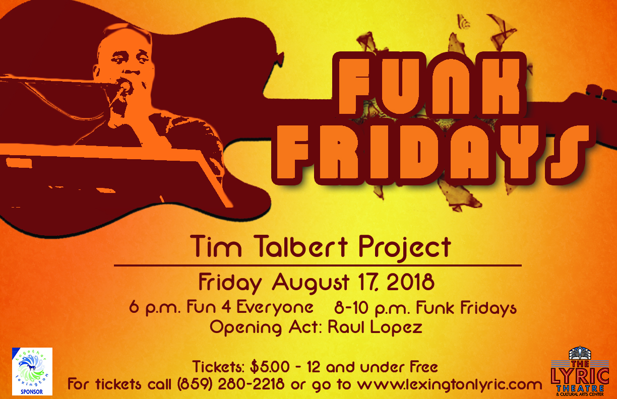 funk fridays tim talbert project