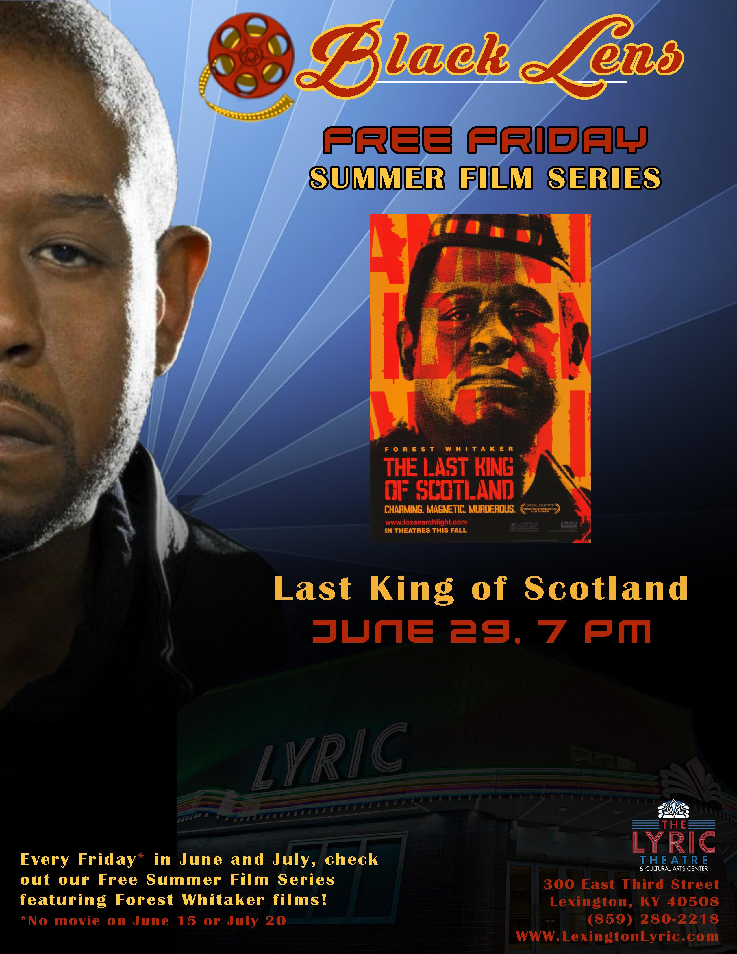 last king of scotland